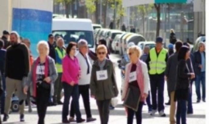 Cursa i passejada solidària per la lluita contra el Parkinson a Terrassa