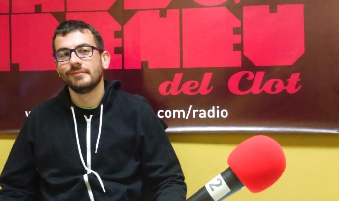 Dani Celma, membre d'Unitat Contra el Feixisme i el Racisme, Barcelona (imatge: FAC) Font: