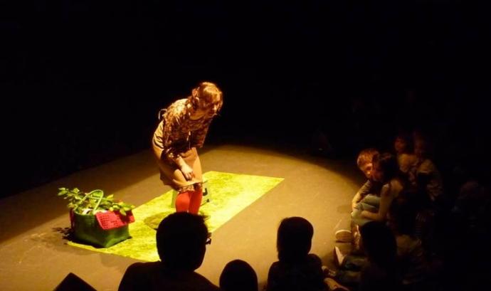 Sessió de contes durant el Festival Munt de Mots Font: Munt de Mots