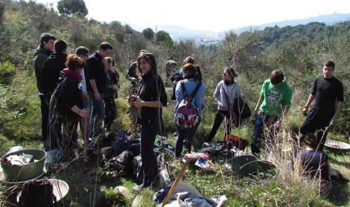 Jornada de voluntariat ambiental a Collserola amb Depana (imatge: depana.org)