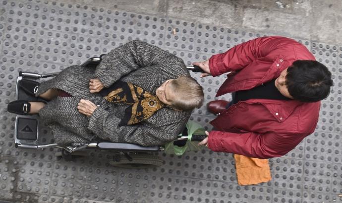 Persona cadira de rodes Font: Flickr