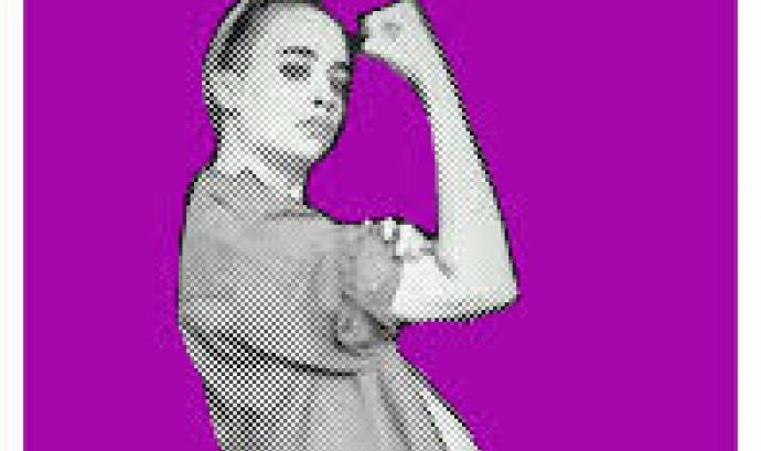 """Cartell de la campanya """"Jo decideixo"""" a favor del dret a l'avortament. Font: Ca la Dona"""