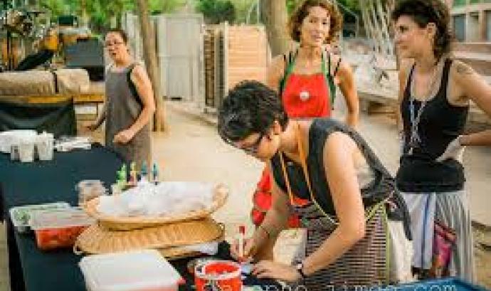 La cooperativa Menjador Ca la Rosa serà una de les entitats que explicarà a la sessió la seva experiència amb el finançament alternatiu. Font: Menjador Ca la Rosa