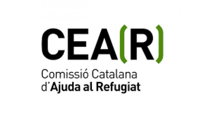 El logotip de la Comissió Catalana d'Ajuda al Refugiat. Font: CCAR