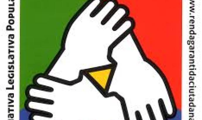 La imatge de la Iniciativa Legislativa Popular a favor d'una renda garantida ciutadana. Font: Renda Garantida Ciutadana