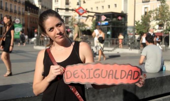 Desigualtat. Fotograma del vídeo del projecte Avizor Font:
