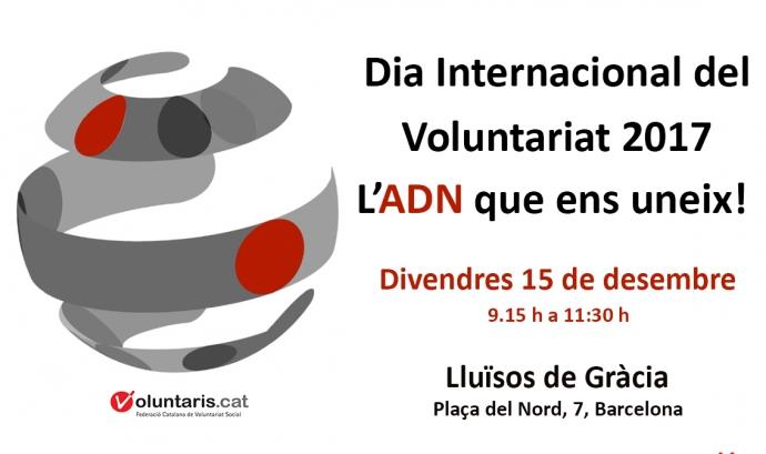 Dia Internacional del Voluntariat a Barcelona