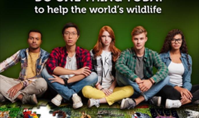 El Dia Mundial de la Vida Silvestre buscar donar visibilitat a les veus joves per la conservació de la natura (imatge: wildlifeday.org)