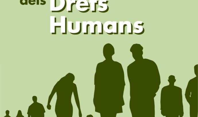 Cicle de conferències 'Els dilluns dels drets humans'. Font: Cristianisme i Justícia