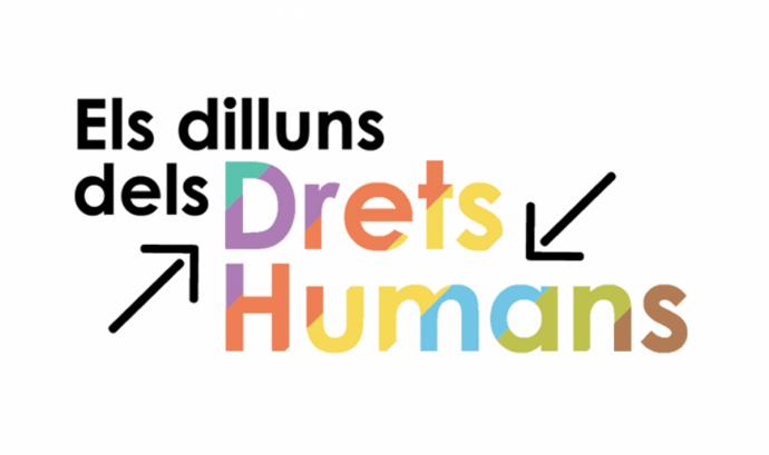 Logotip del Cicle Dilluns dels Drets Humans. Font: Cristianisme i Justícia