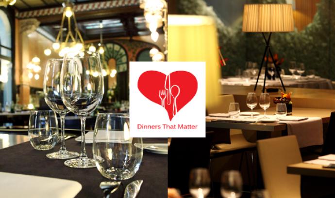 El 25% de la facturació del sopar es destina a projectes solidaris de la fundació. Font: gastronomistas