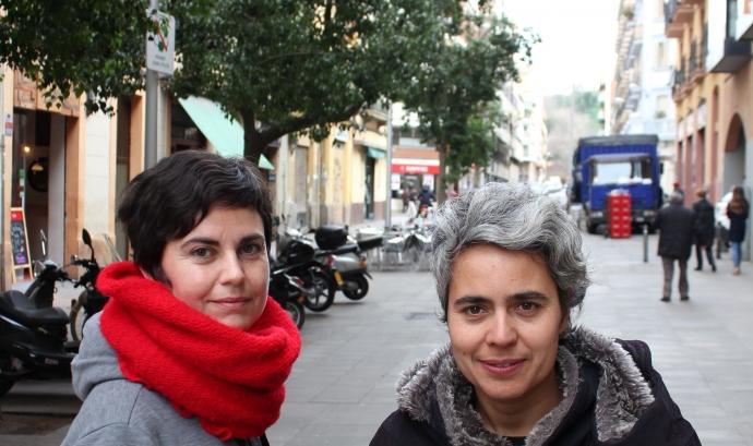 Maria Zafra i Raquel Marqués, directores del documental 'Arreta' Font: Documental 'Arreta'