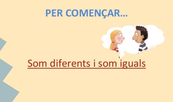 Diferents, però iguals. Font: malarrassa.cat