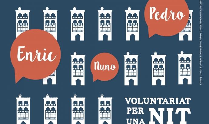 Cartell del recompte de persones sense llar a Lleida (Font: paeria.es)
