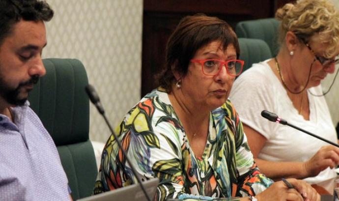 Dolors Bassa ha comparegut a la comissió d'Afers Socials  Font: Parlament