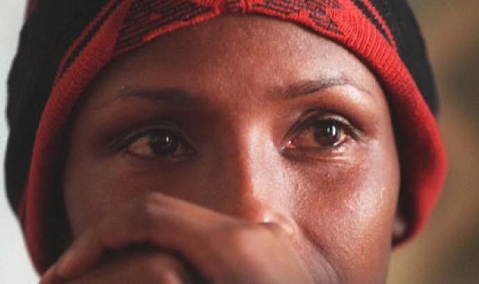 Dona africana, Font: El Mundo