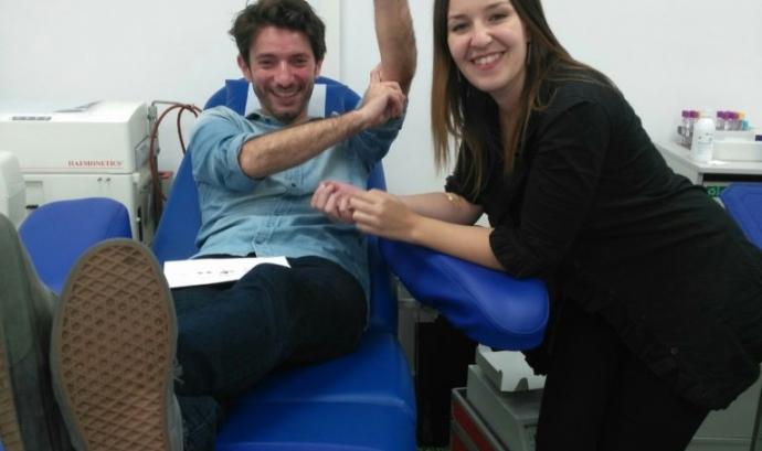 Donants de sang Font: