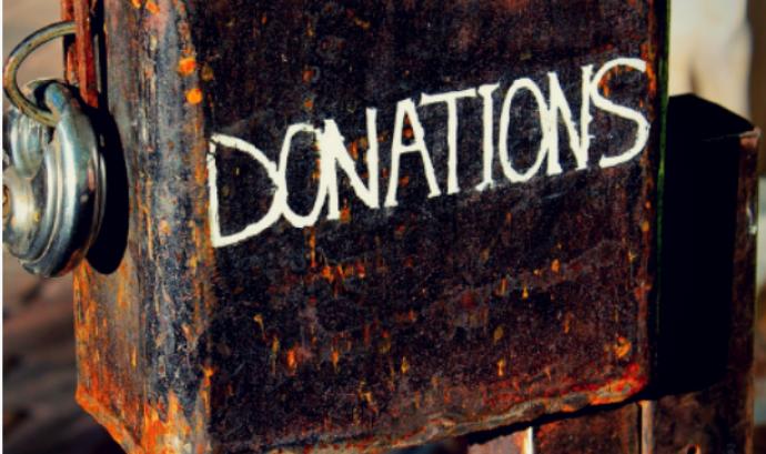 Bústia de donacions