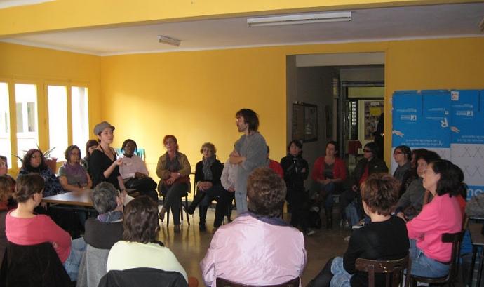 Formació del projecte Dones Ende a Xarx@ntoni, Barcelona