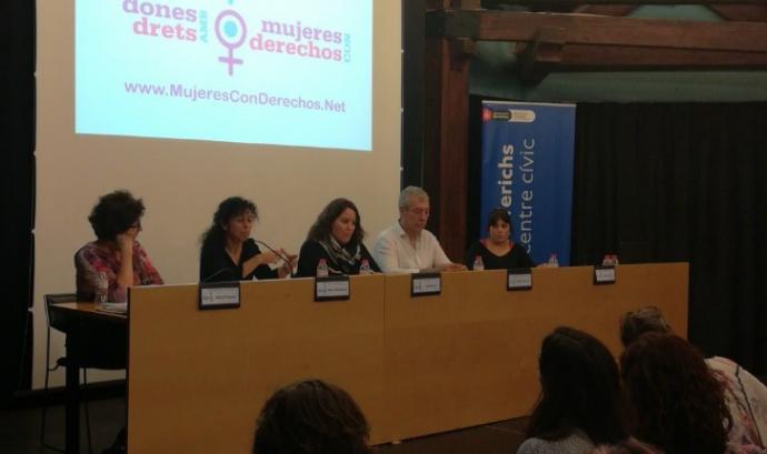 Presentació de la campanya 'Dones amb Drets'