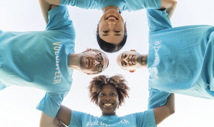 Només el 27% de les organitzacions voluntàries inclouen gent discapacitada al seu equip. Font: Unsplash.