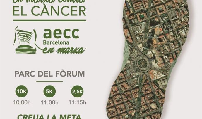 """1a edició de la cursa """"En Marxa Contra el Càncer Barcelona"""""""