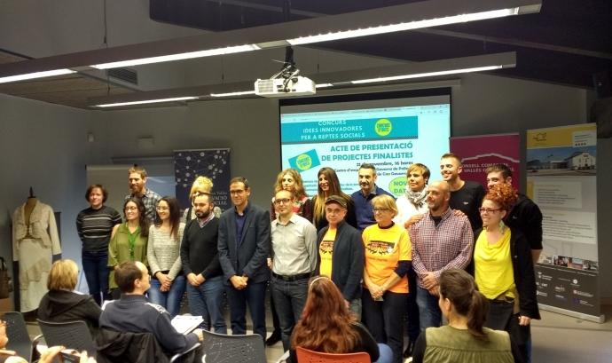 Projectes finalistes de la 4a edició del Concurs d'Idees Innovadores per a reptes socials.