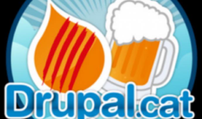 Logotip de les trobades Dropal.cat + Beers.