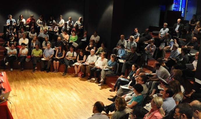 Imatge de la jornada Les entitats davant la reforma fiscal i del mecenatge Font: