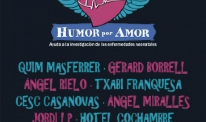 Gala solidària 'Humor por amor' en benefici de l'Hospital Sant Joan de Déu de Barcelona.