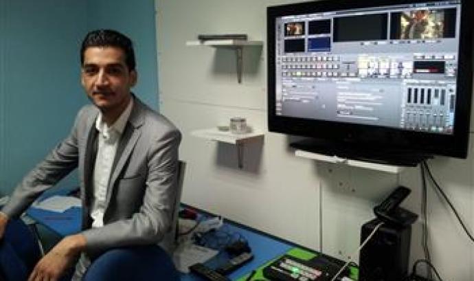 Sutka City TV, la primera televisió que emet en llengua romaní Font: