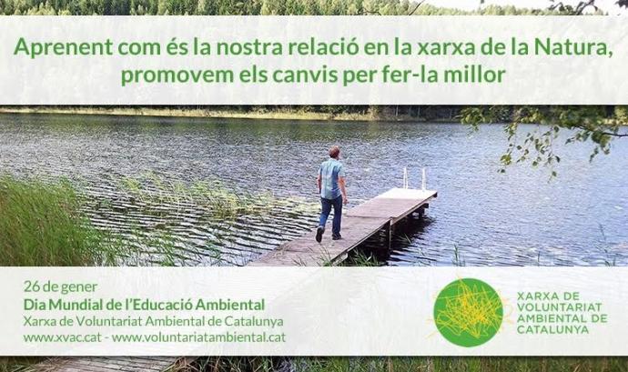 El 26 de gener es celebra el dia mundial de l'Educació Ambiental (imatge: xvac.cat)