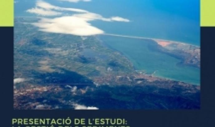 Sense sediments, el Delta de l'Ebre acabarà desapareixent. Font: Enginyeria Sense Fronteres.