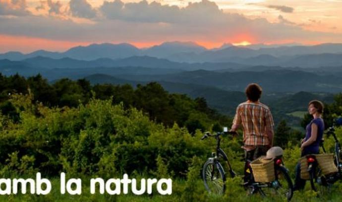 Burricleta és una iniciativa de turisme amb bicicletes elètriques (imatge:burricleta.com)