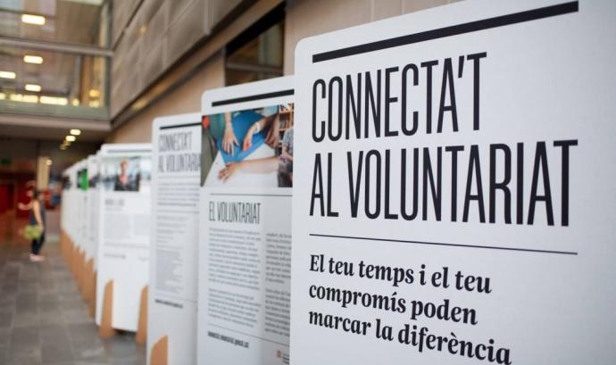 Exposició 'El Voluntariat a Catalunya'