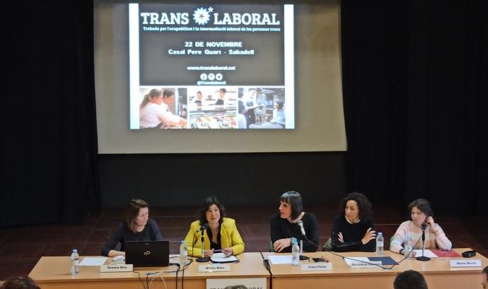 Translaboral, una plataforma per defensar els drets laborals dels col·lectius trans. Font: Translaboral