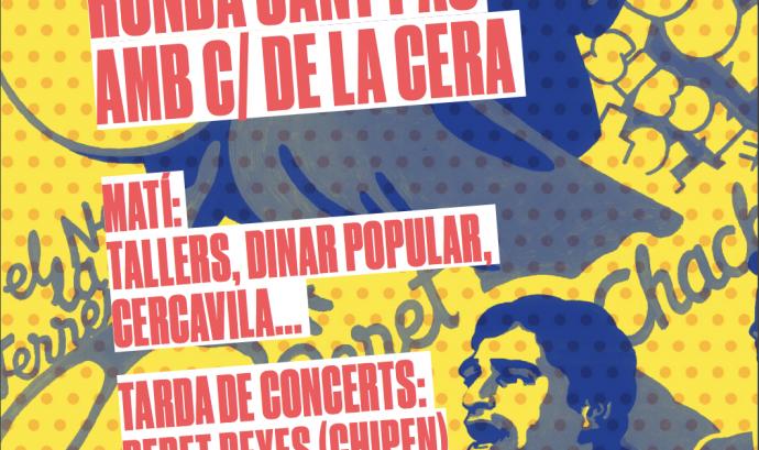 Cartell de 'El Raval és Rumba!'