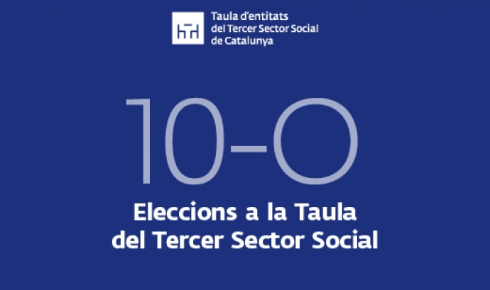 La data de les eleccions de la Taula Font: Taula del Tercer Sector
