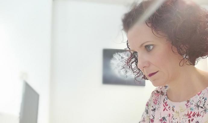 Elena Velasco, responsable de comunicació de Specialisterne. Font: Specialisterne