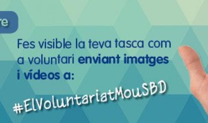 #ElVoluntariatMouSBD Font: