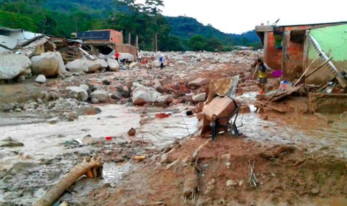 Emergència inundacions Colòmbia Font: