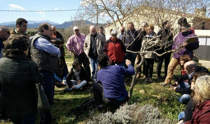 Curs d'agricultura ecològica amb la Fundació Emys (imatge: fundacioemys.org) Font: