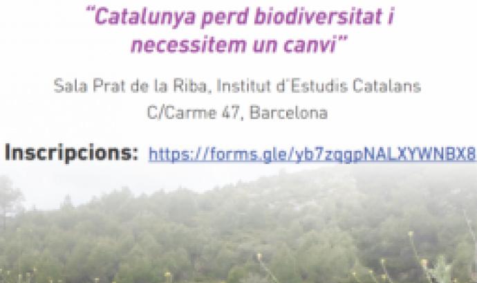 Debat sobre la pèrdua de biodiversitat a Catalunya divendres 21 a l'Institut d'Estudis Catalans