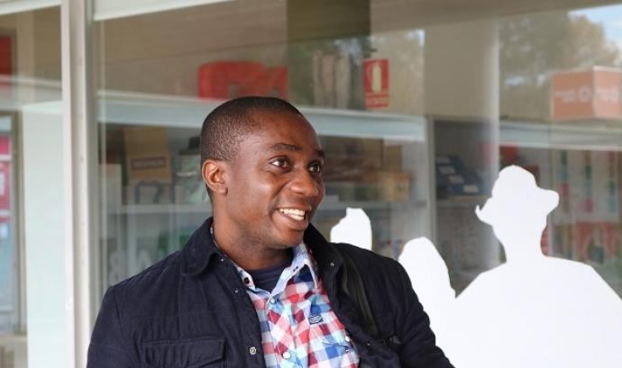 Entrevista a Maxwell Ibeawuchi, beneficiari del Programa Acollida de la FAS