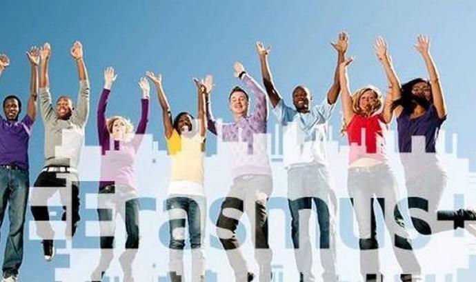 Imatge de difusió d'Erasmus+
