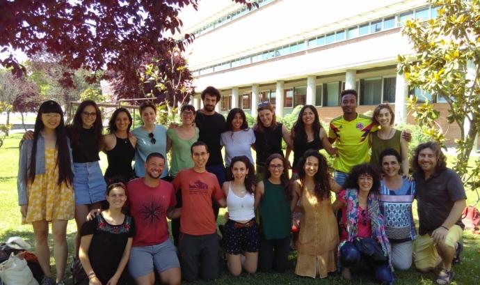 Alumnes participants en la passada edició del Postgrau en Cultura de la Pau