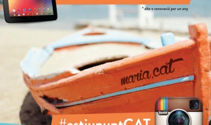 Imatge promocional del concurs #estiupuntCAT Font: