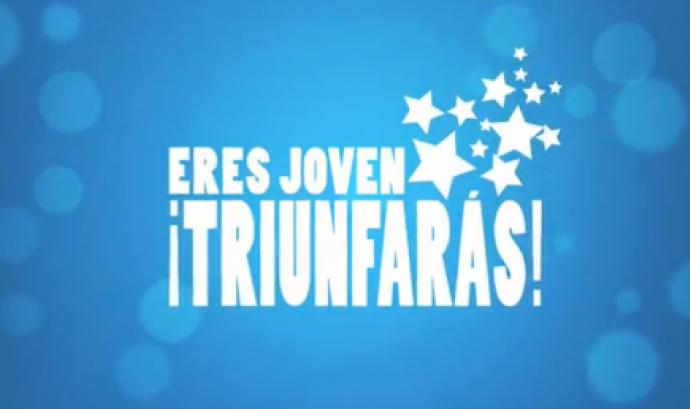 Logotip del concurs Ets jove triomfaràs! Font: