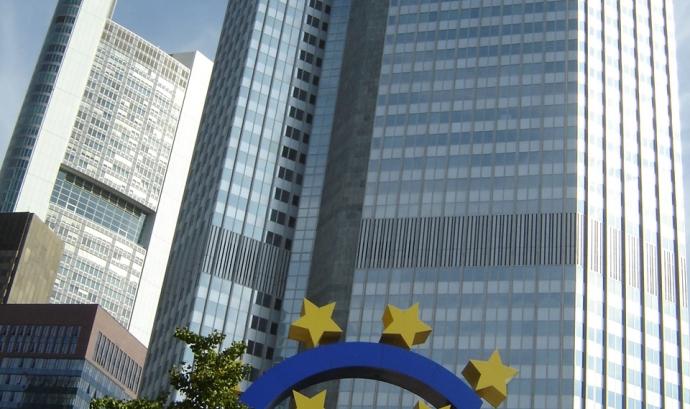L'edifici del Banc Central Europeu, a Frankfurt, a Alemanya. Font: Wikipedia Font: