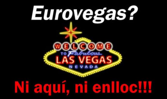 Logotip de la campanya contra Eurovegas